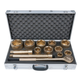 KS Tools BRONZEplus Steckschlüssel-Satz 1'' 23-teilig Zoll