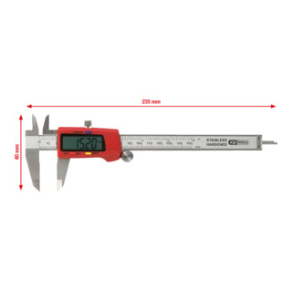 KS Tools Digital-Messschieber 0-150 mm