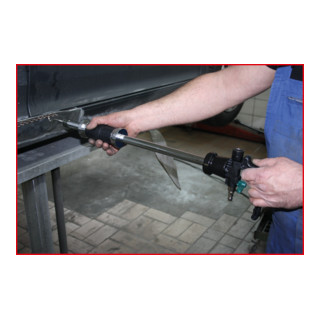 KS Tools Druckluft-Ausbeulhammer-Satz, 5-tlg.