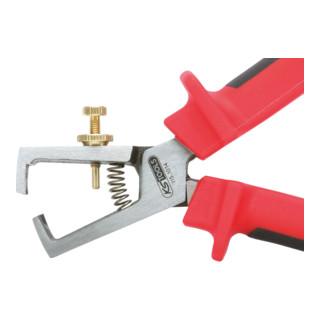 KS Tools ERGOTORQUE Abisolierzange, 180mm