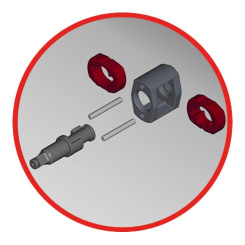 KS Tools Hochleistungs-Druckluft-Schlagschrauber THE DEVIL 3/4 Zoll, 2000 Nm