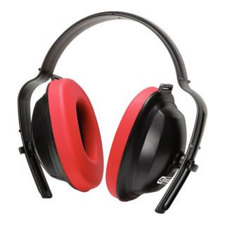 KS Tools Kapselgehörschutz mit Kopfbügel, rot