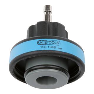 KS Tools Kühlsystem-Bajonettadapter, #13, IG M60x4, blau