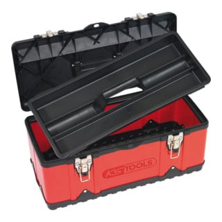 KS Tools Kunststoff-Stahlblech-Werkzeugkiste