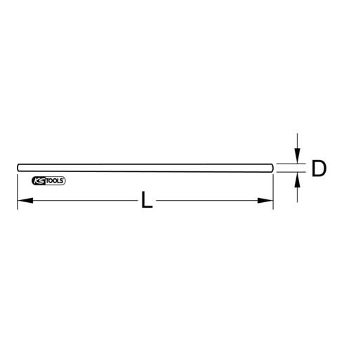 KS Tools Leiterseilabdeckung für Freileitungen