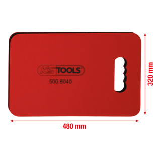 KS Tools Mechaniker-Schutzmatte, L480xB320xH36mm