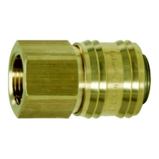 KS Tools Messing-Kupplung mit Innengewinde