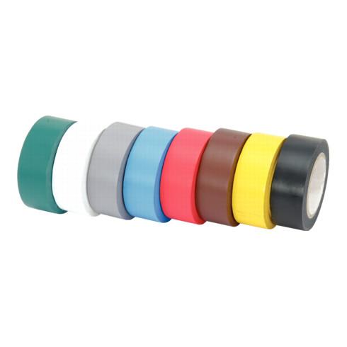 KS Tools PVC-Isolierband-Set, 8-teilig