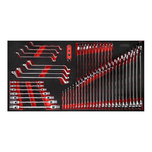 KS Tools Schraubenschlüssel-Satz in Schaumstoffeinlage, 57-tlg