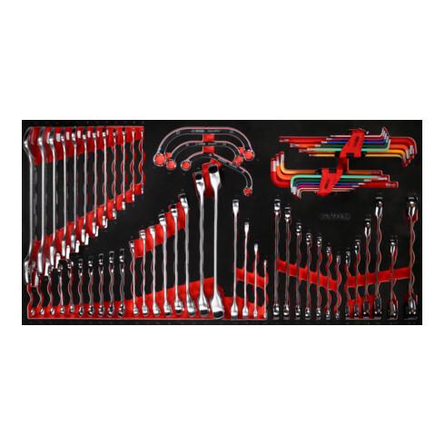 KS Tools Schraubenschlüssel-Satz in Schaumstoffeinlage, 68-tlg