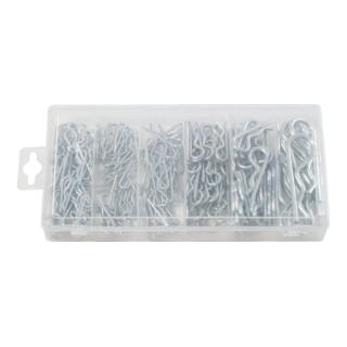 KS Tools Sortiment Federsplinte, 1,8x33 - 3,9x75, 150-teilig