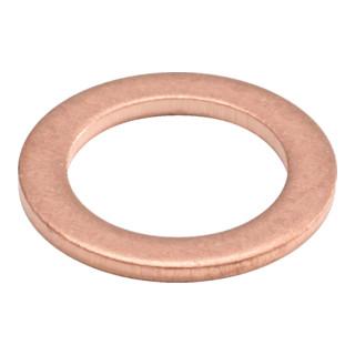KS Tools Sortiment Kupfer-Dichtringe, Ø 5-17,5mm, 150-teilig
