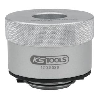 KS Tools Universal Bajonett-Adapter für Öl-Einf...