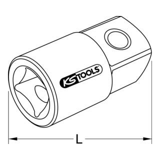 KS Tools Vergrößerungsadapter, Zoll