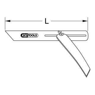 KS Tools Verstellbarer Winkel mit Stahlschenkel