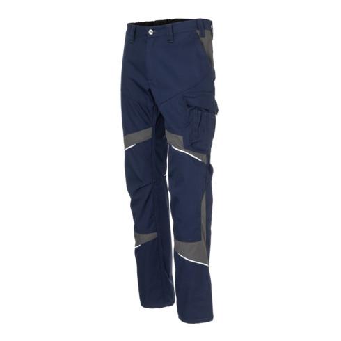Kübler ACTIVIQ cotton+ Damenhose dunkelblau/anthrazit