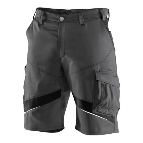 Kübler ACTIVIQ cotton+ Shorts anthrazit/schwarz