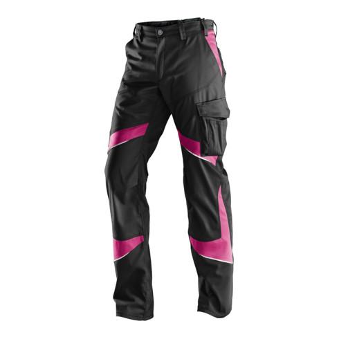 Kübler ACTIVIQ Damenhose schwarz/pink