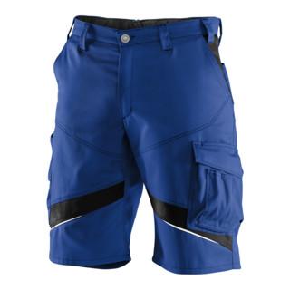 Kübler ActiviQ Shorts 2450 kornblumenblau/schwarz