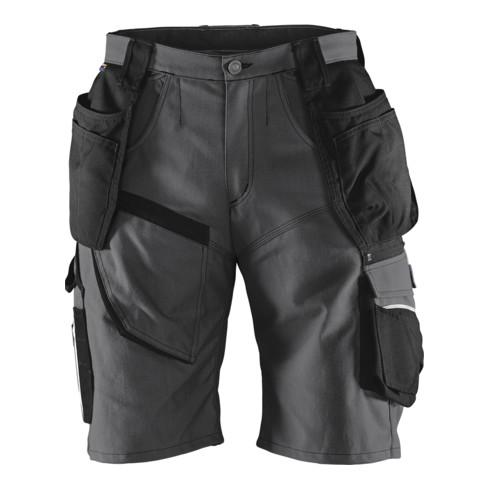 Kübler Practiq Shorts 2451 anthrazit/schwarz 50