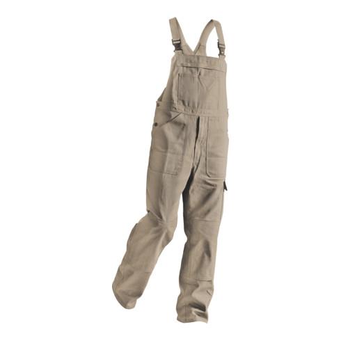 Kübler Quality-Dress Latzhose 3651 sandbraun