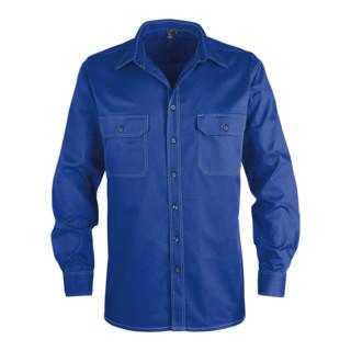 Kübler Shirt-Dress Hemd 7406 kornblumenblau