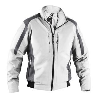 Kübler Wetter-Dress Jacke 1367 weiss/anthrazit