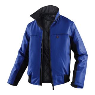 Kübler Wetter-Dress Jacke 1167 kornblumenblau/schwarz