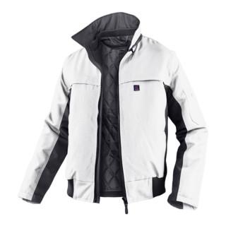 Kübler Wetter-Dress Jacke 1167 weiss/anthrazit