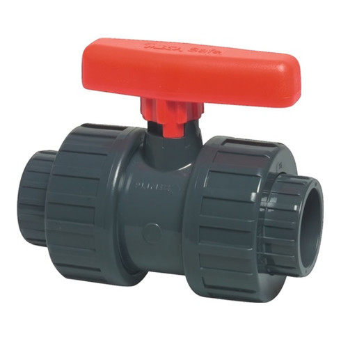 Kugelhahn Safe 600 PVC-U Nenn-Gr.mm 50 MEGA