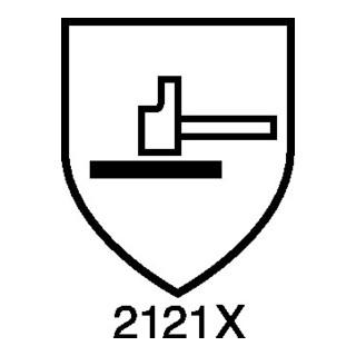 Kunstlederhandschuhe Mechanical Master Gr.11 schwarz/blau Kunstleder
