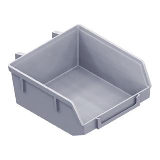 Kunststoff-Minibox Material Ku. weiß B.90mm T.90mm H.40mm Element-System