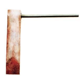 Kupferstück Hammerform gerade