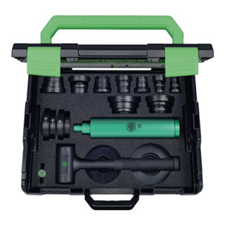 Lagereinbauwerkzeug-Satz Bohrungs-D.10-50mm Schlaghülse 19/32/50mm 71-L