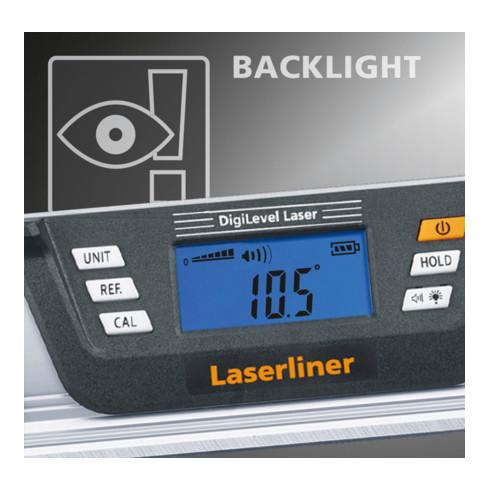 Laserliner Digitale-Wasserwaage DigiLevel Laser G80