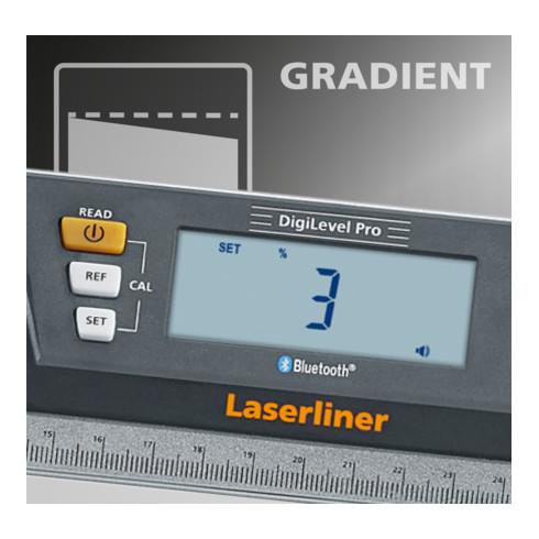 Laserliner digitale Wasserwaage DigiLevel Pro 120
