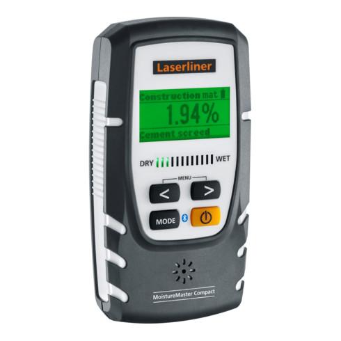 Laserliner Materialfeuchtemessgerät MoistureMaster Compact Plus