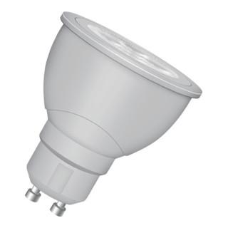 LED-Leuchtmittel 5,3W GU10 Fass. 220-240V 385Lm warm weiß dimmbar