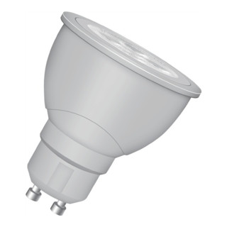 LED-Leuchtmittel 5,5W GU10 Fass. 220-240V 385Lm warm weiß nicht dimmbar