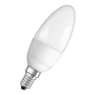 LED-Leuchtmittel 6W E14 Fassung 230-240V 470Lm Kerzenf.matt nicht dimmbar