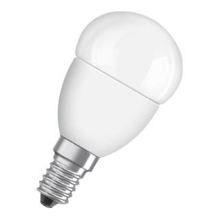LED-Leuchtmittel 6W E14 Fassung 230-240V 470Lm warm weiß matt nicht dimmbar