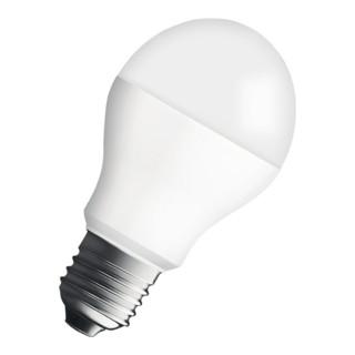 LED-Leuchtmittel 6W E27 Fassung 220-240V 470Lm warm weiß matt nicht dimmbar