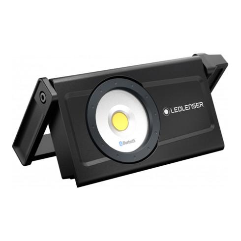 Ledlenser iF8R Profi-Baustrahler mit Bluetooth-Steuerung und regelbaren Helligkeitsstufen, wiederaufladbar