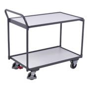Leichter Tischwagen, ESD, 2 Ladeflächen