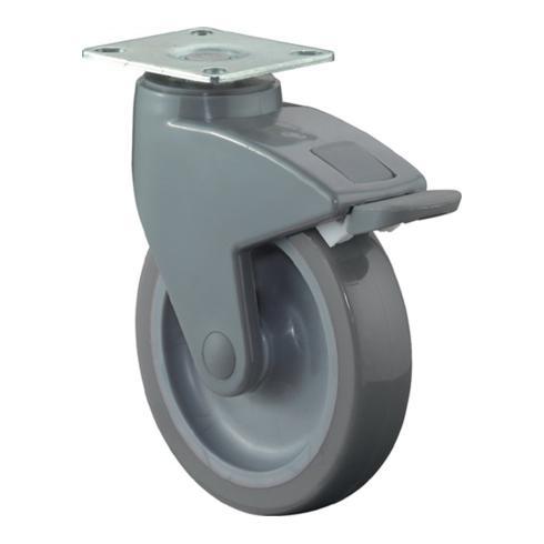 Lenkrolle C120.A83.125 mit Feststeller Durchmesser 100mm Tragfähigkeit 90kg