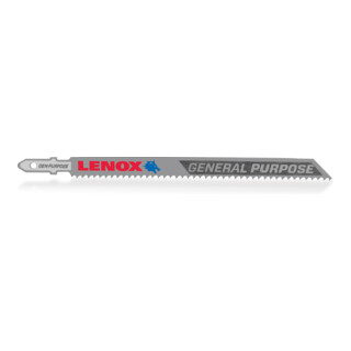 LENOX Bi-Metall Stichsägeblatt 133 x 10 x 1,3mm 10ZPZ, T-Schaft, für Universalanwendungen (<88,9mm)