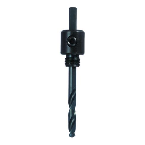 LENOX Schnellspanndorn SNAP BACK für Lochsägen 14,3-30,2mm, Schafttyp 3-seitig >6,4mm, Pilotbohrer auswechselbar, 3-seitiger Schaft