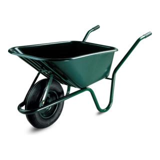 Lescha Schubkarre Limex 100L PP-Mulde grün