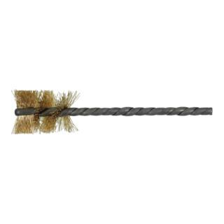 Lessmann Rohrbürste Messingdraht 0,20 mm, Bürsten-⌀ 20 mm