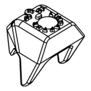 Lindapter CF Sphäro-Guß M 16 feuerverzinkt S